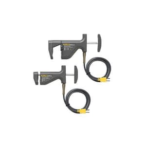Fluke 80PK-18 Type K Pipe Clamp Temperature Probe Kit