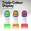 Forehead Thermometer Triple Colour Display
