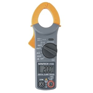 Kewtech Digital Clamp Meter KT200