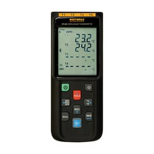 Martindale DTL84 Four Channel Data Logger Thermometer
