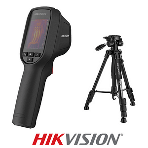 Hikvision DS-2TP31B-3AUF Fever Screening Thermal Camera Cam & tripod