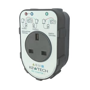 Kewtech PATADAPTER1 Portable Appliance Adapter Box
